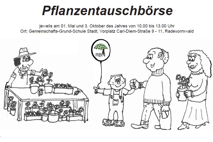 Pflanzentauschbörse_Zeichnung